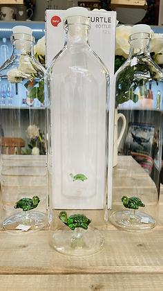 Glass turtle 1.2 litre carafe