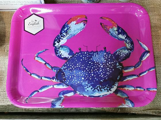 dish of the day crab tray coastal theme
