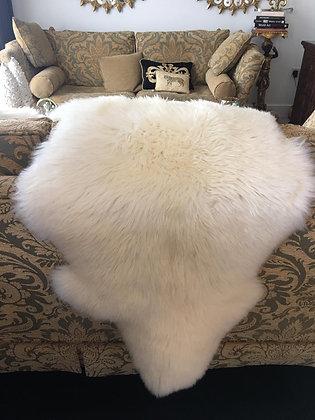 Super soft cream sheepskins