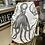 Thumbnail: Large 100% heavy canvas kit bag•beach bag•laundry bag With octopus print