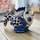 Thumbnail: Glorious fish handmade delft teapot.