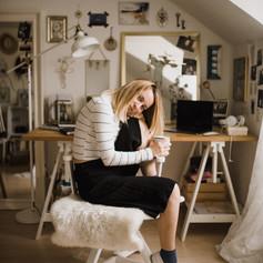 sheep skin chair