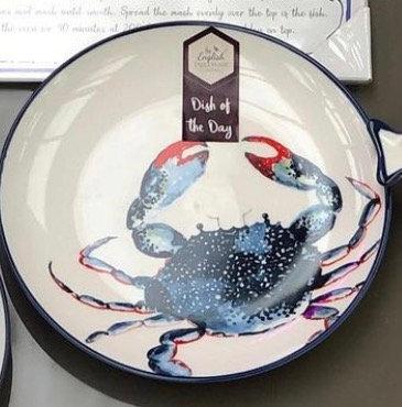 Crab side plates