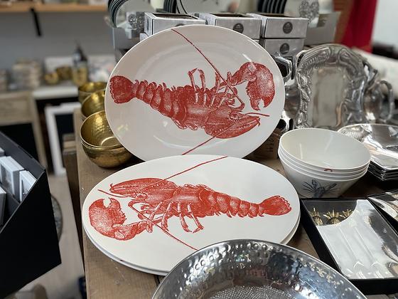Lobster design platter