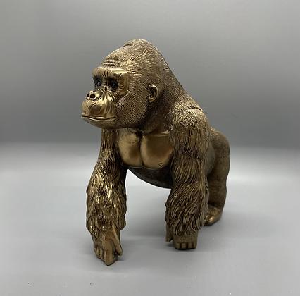 Bronzed gorilla