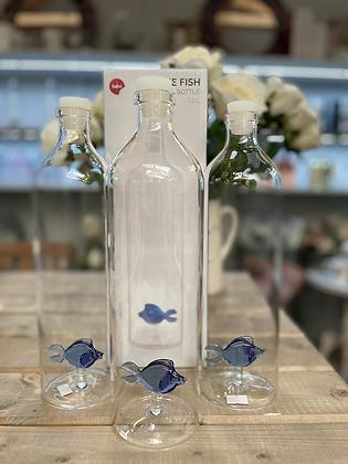 Glass fish 1.2 litre carafe