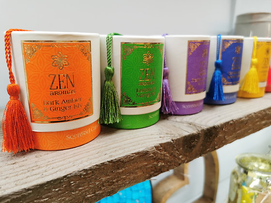 zen yogi candles frangrance