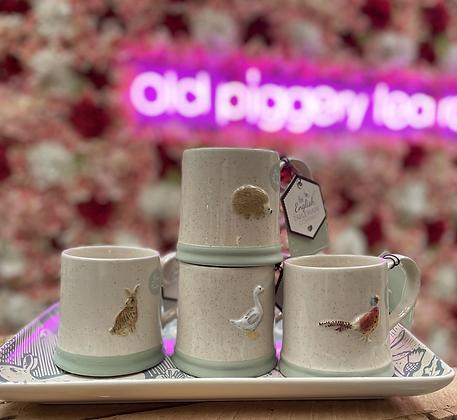 Countryside animal mugs