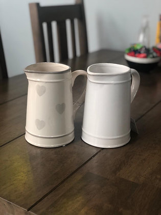 enamel farmhouse style jug