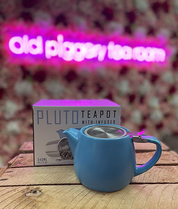 Pluto 540ml teapot with infuser