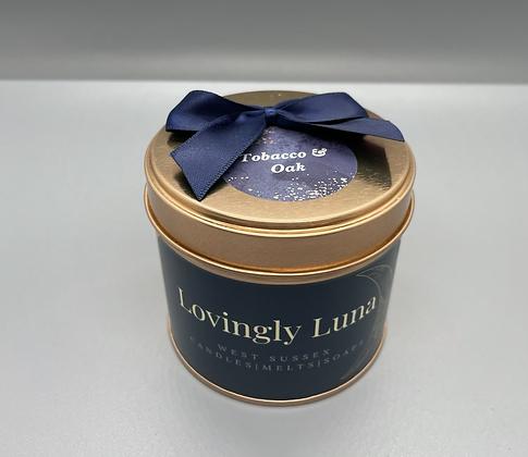 Lovingly Luna candle tin