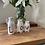 Thumbnail: 4 Decorative bottles spelling love