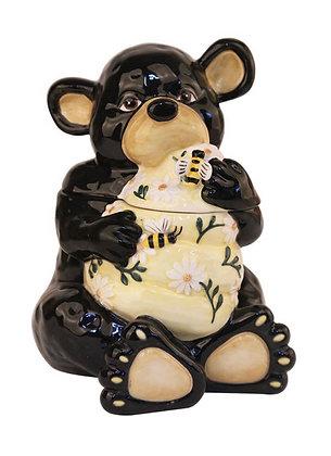 Honey bear cookie jar