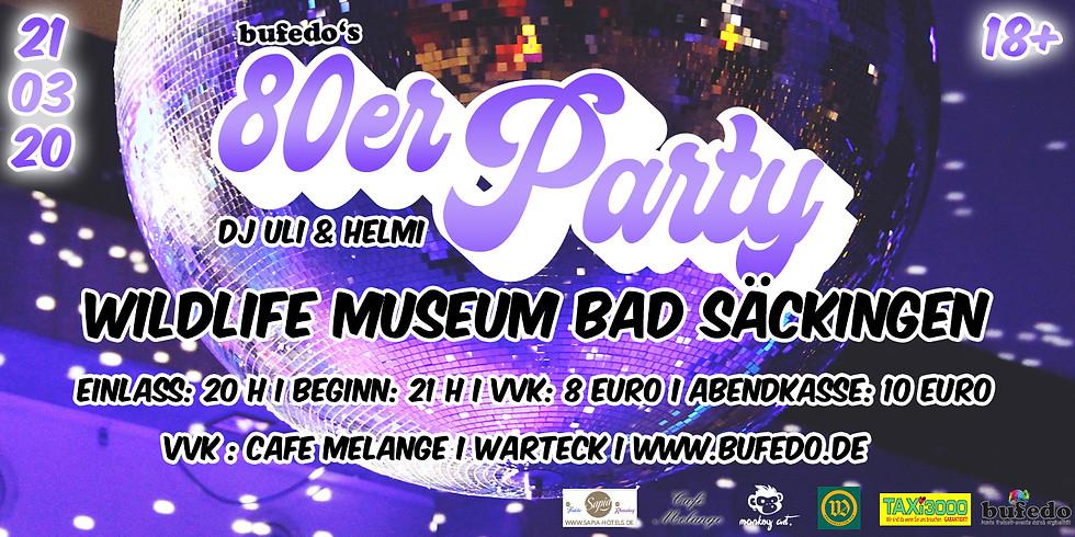 bufedo's 80er Party