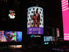 The ParentPreneur Foundation Featured On The Nasdaq Tower In Times Square