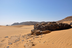 Ancient stone circle in Bir Hima, a rock art site in the province of Najran.jpg