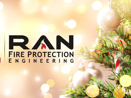 Warmest Holiday Wishes from RAN Fire Protection Engineering!
