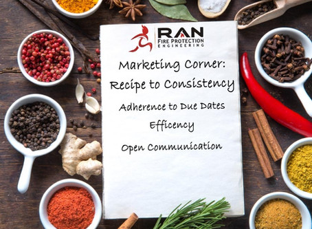 Marketing Corner: Recipe to Consistency