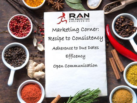 Marketing Corner: Recipe to Consistency