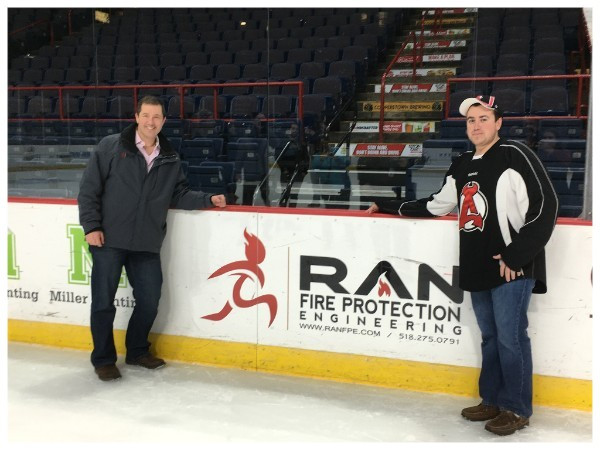 RAN Fire Protection Enigneering; New Jersey Devils