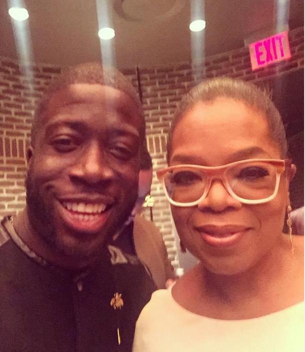 Rae + Oprah Winfrey
