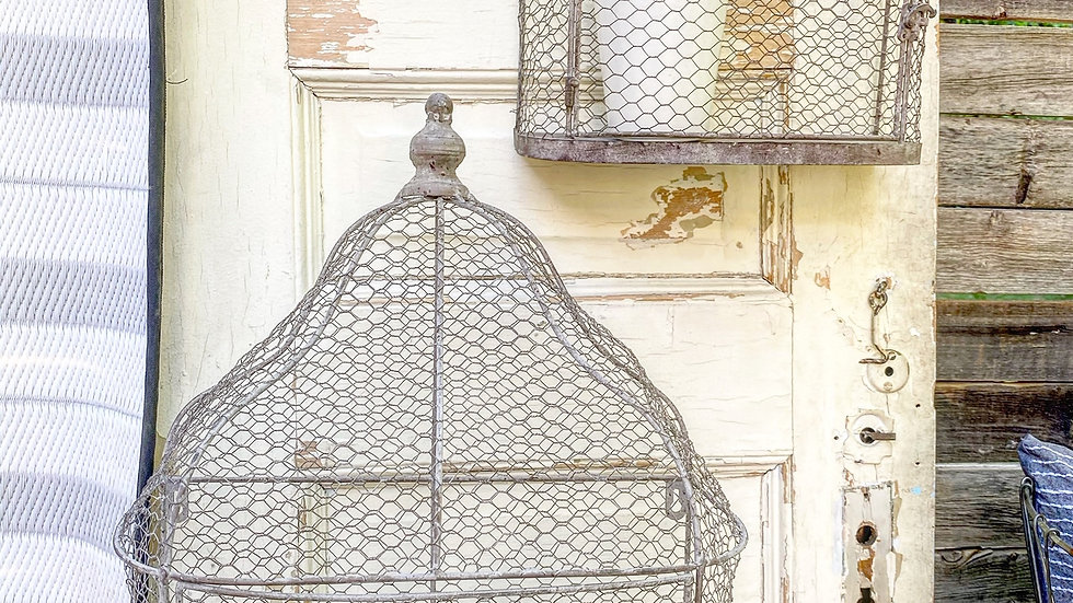 New Large Chicken Wire Wall Birdcage