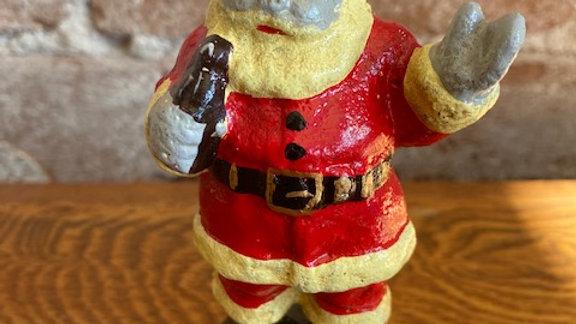 "5"" cast iron Santa"