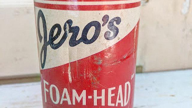 Vintage Jero's Foam-head bar sugar