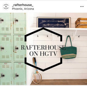 Rafterhouse used our mint lockers for their HGTV pilot episode.