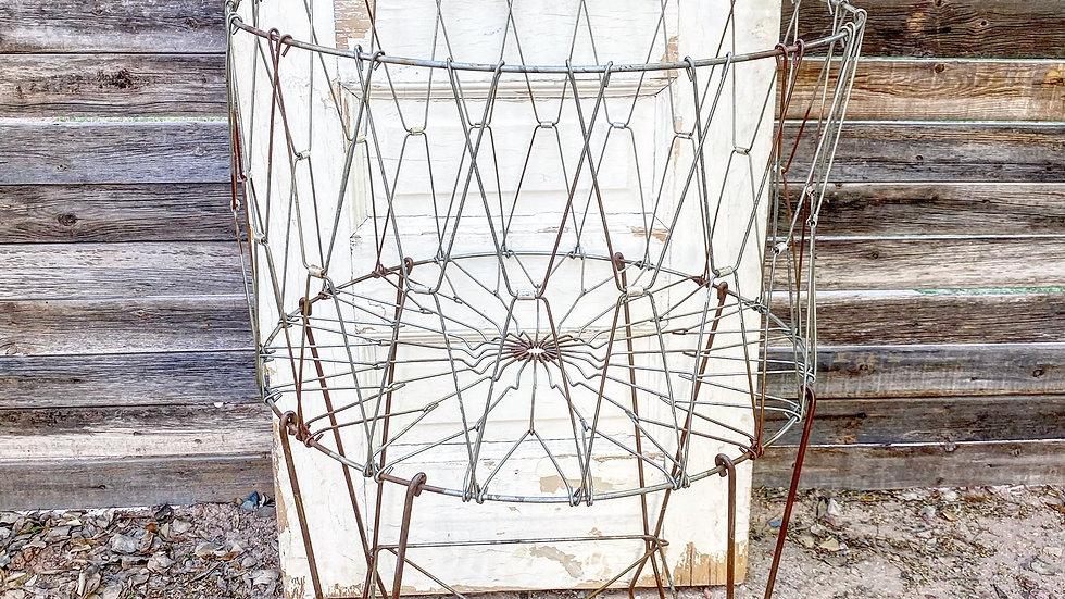 Large Metal Collapsible Plant/ Laundry Stand