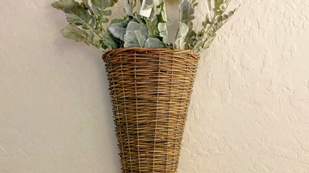 Small Willow Door Basket