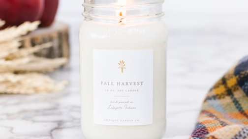 Antique Candle Co. 16oz Fall Harvest Soy Candle