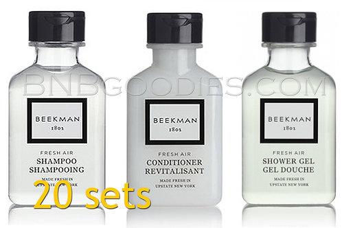 Beekman 1802' : 20 Sets w/ Body Wash