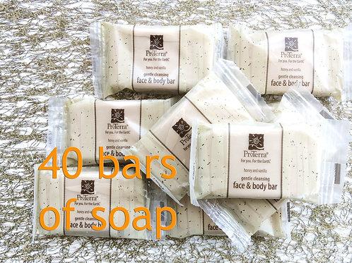 Pro Terra Soap: 40 Guest Bars