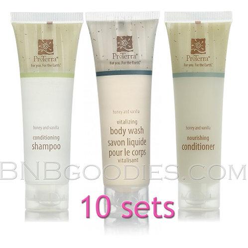 ProTerra : 10 Sets w/Body Wash