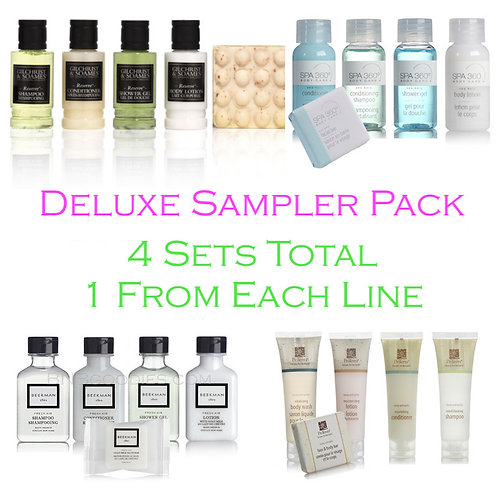 Deluxe Sampler Pack - Try All Items From 4 Lines