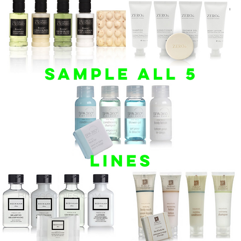 Deluxe Sampler Pack - Try All Items From 5 Lines