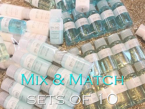 Spa 360 - Mix + Match Any Item, Set of 10