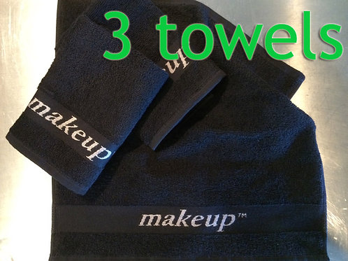 *3* MAKEUP Towels