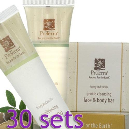 ProTerra: 30 Sets w/Soap