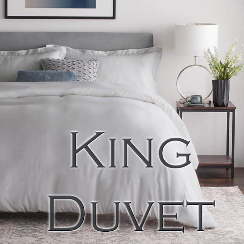 Duvet Cover In Bamboo Rayon by Malouf Fine Linens - KING