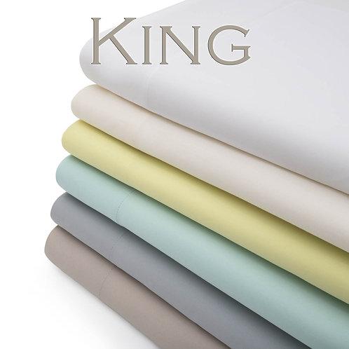 Bamboo Natural Sheets by Malouf Fine Linens - KING