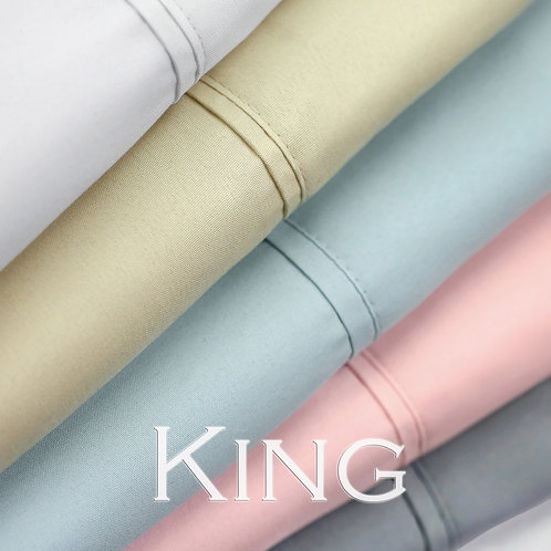 Luxe Microfiber Sheet Set by Malouf Fine Linens - King
