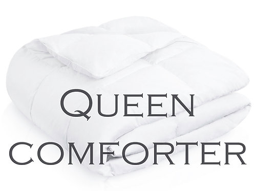 Down Alternative Comforter by Malouf Linens - QUEEN