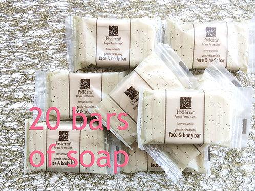 Pro Terra Soap: 20 Guest Bars