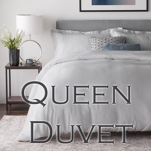 Duvet Cover in Bamboo Rayon by Malouf Fine Linens - QUEEN