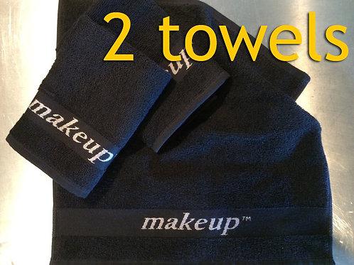 *2* MAKEUP Towels