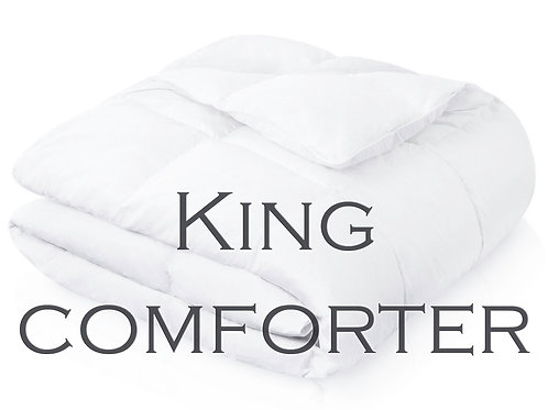 Down Alternative Comforter, by Malouf Linens - KING