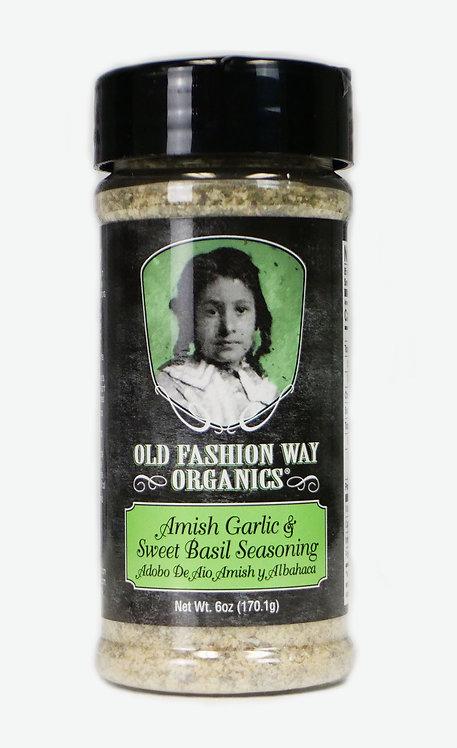 Amish Garlic & Sweet Basil Seasoning