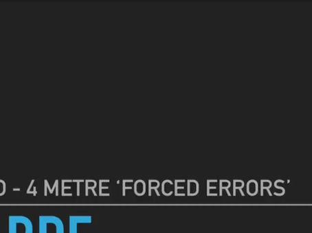 Sabre - 4 Metre Forced Errors